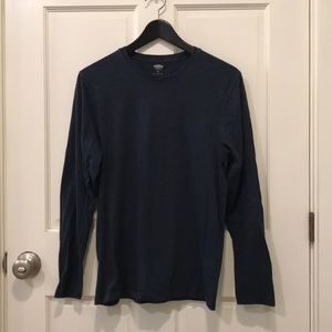 Old Navy Blue Long Sleeve Shirt